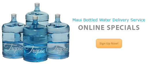 Bottled Water Delivery Online Specials