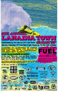 Lahaina Town Clean-up